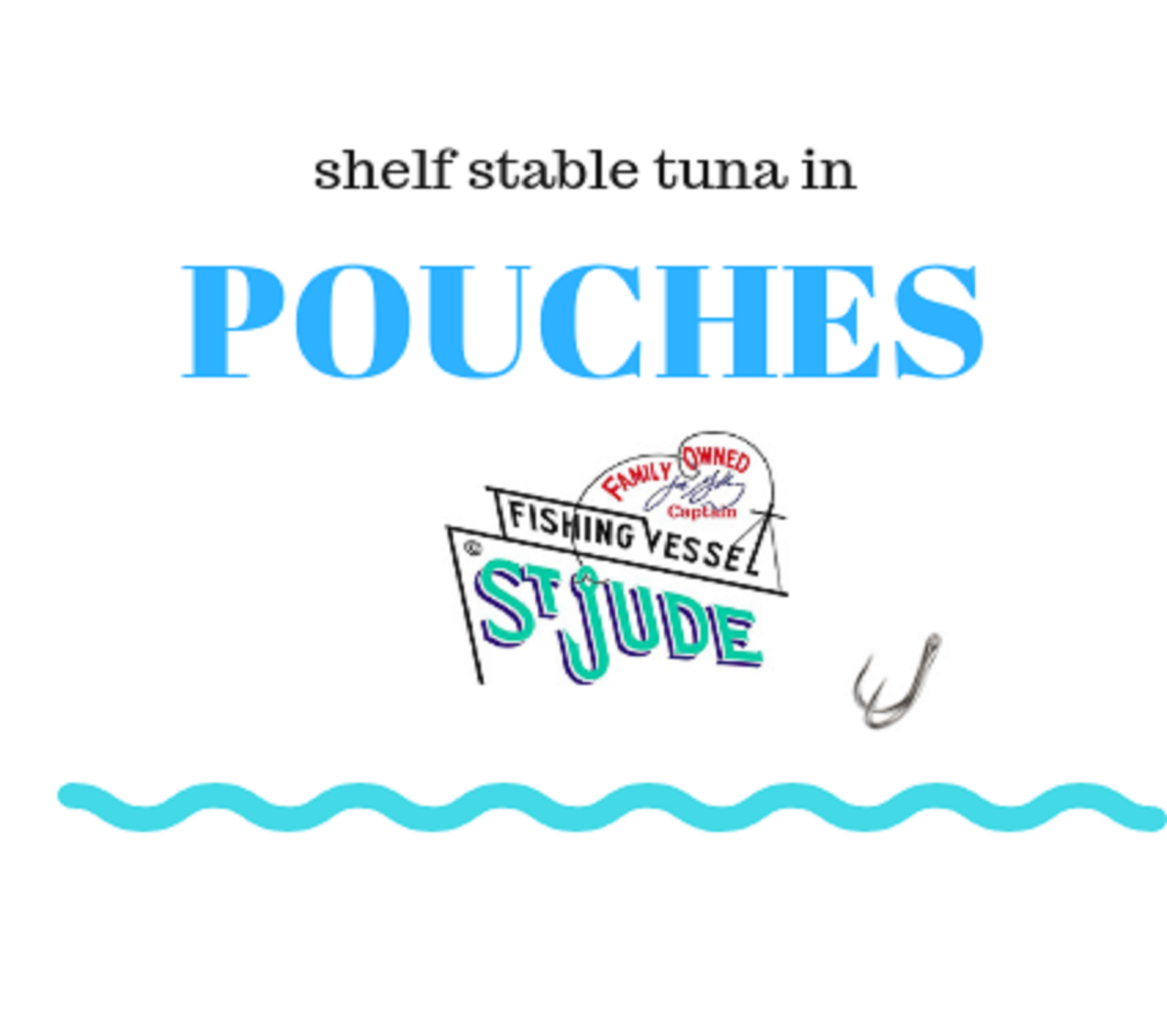 St. Jude Pouch Pack Albacore Tuna  (Shelf Stable)