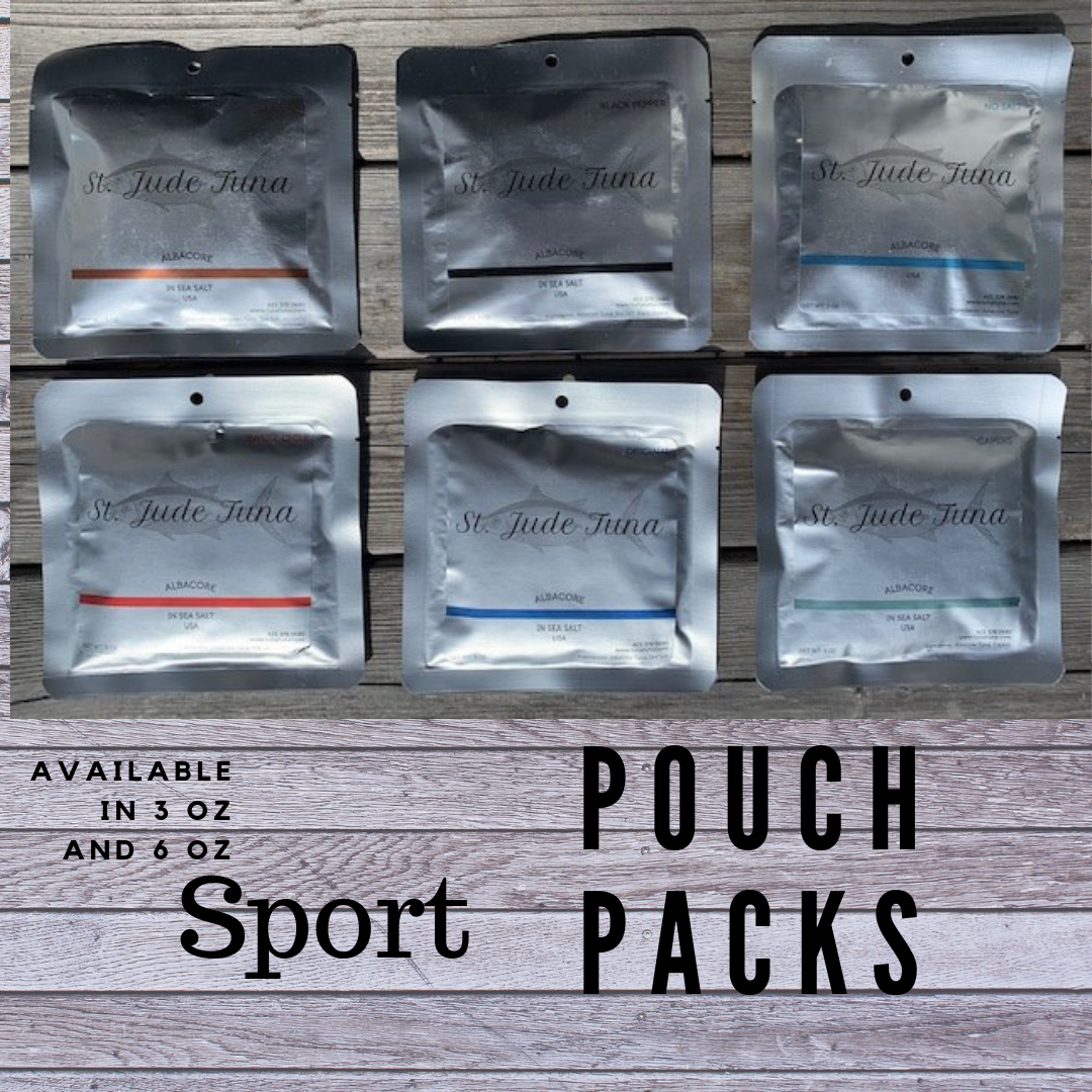 St. Jude Albacore Sport Pouch Packs (Shelf Stable)