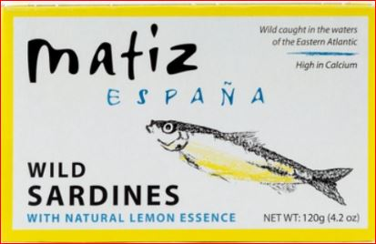 Matiz Sardines Lemon 4.2 oz.