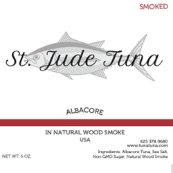 Smoked Albacore  6 oz.