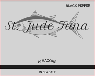 St. Jude 3 oz. Black Pepper Sports  Pouch