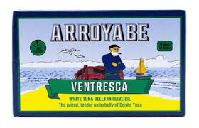 Arroyabe  Ventresca Bonito Tuna Belly  3.9 oz.